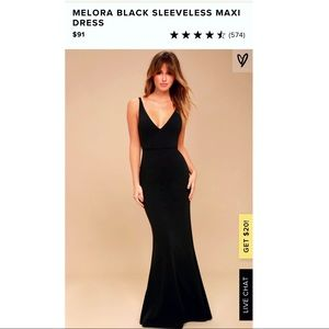 Lulus Black Dress